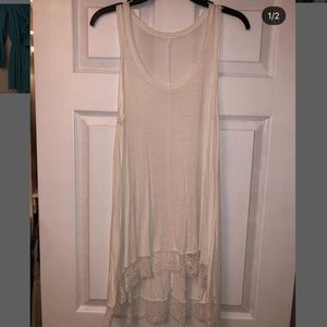 American Eagle Long Flowy Tank